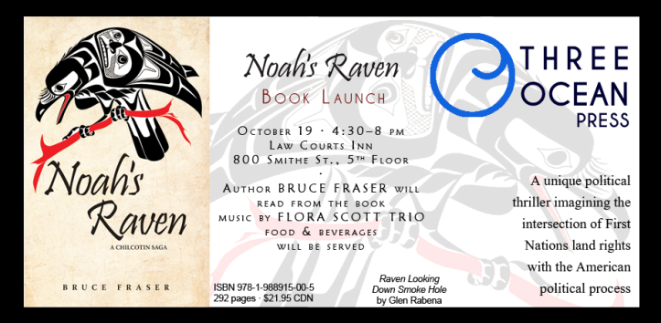 Noah's Raven Launch Invite
